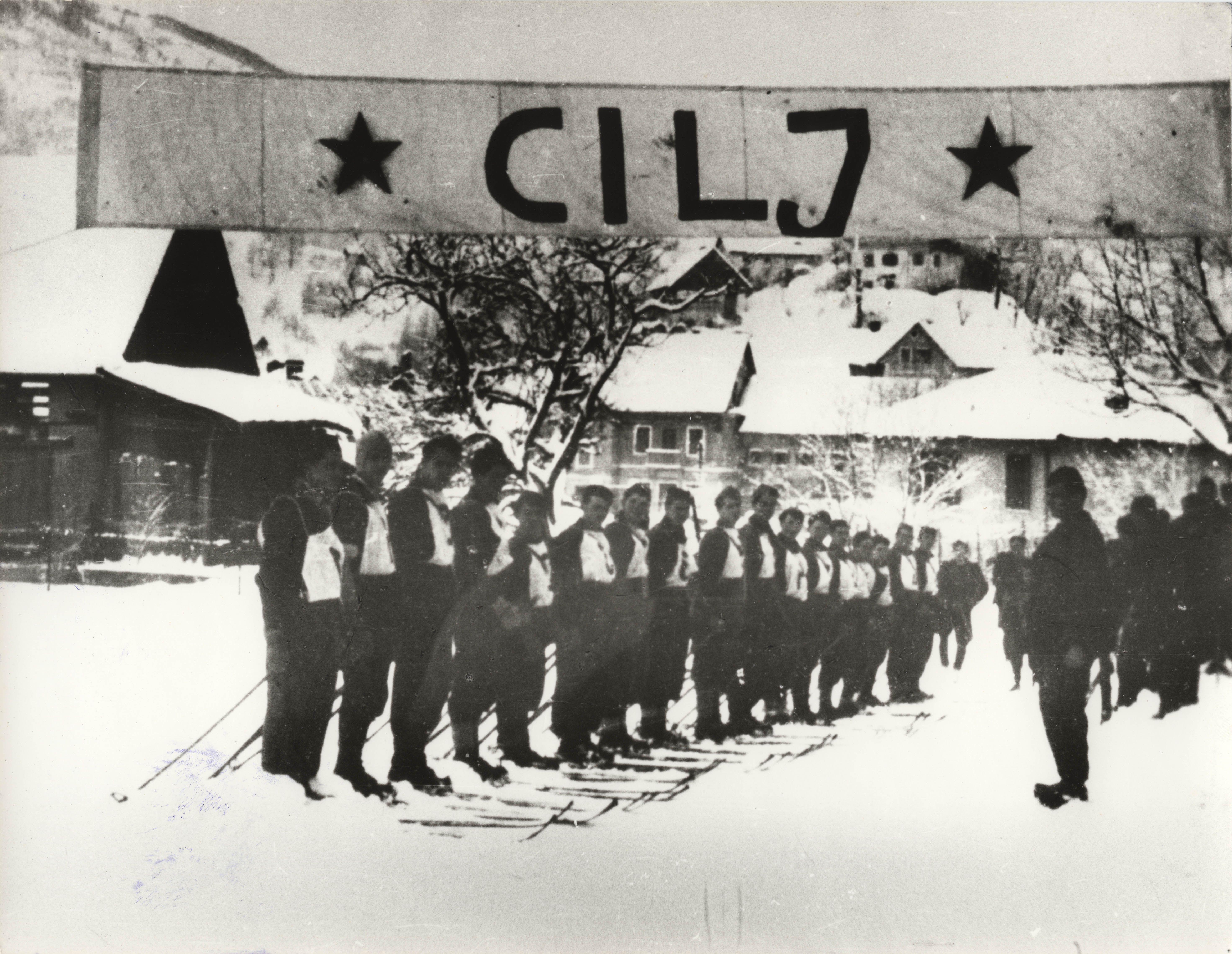 Partizanske smučine Cerkno 45