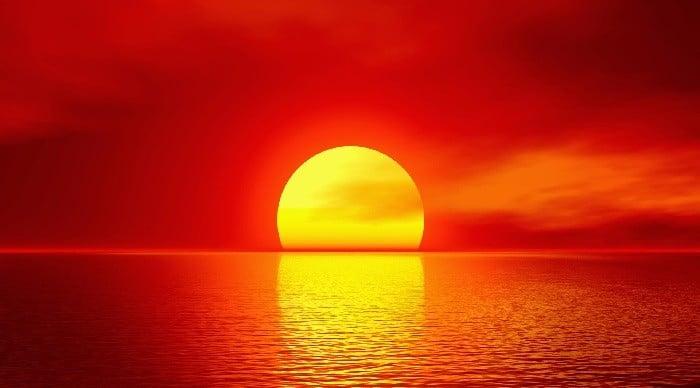 Tri četrtine sonca